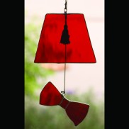 Fez and Bow Tie Sun Catcher