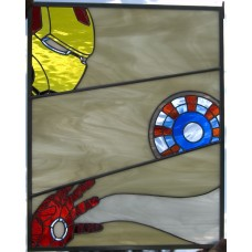 """I Am..."" Stained Glass Panel"