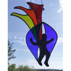 Epcot Sprite Puppet Costume Stained Glass Sun Catcher