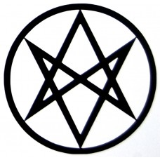Unicursal Hexagram Vinyl Decal